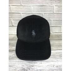 Кепка Ralph Lauren вельветовая черная арт.3218