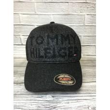 Бейсболка утеплённая Tommy Hilfiger серая арт.3202