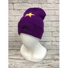 Шапка Принцесса Пупырка Adventure Time фиолетового цвет арт.1002-1