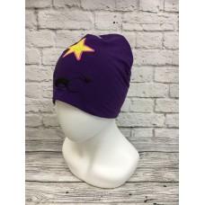 Шапка Принцесса Пупырка Adventure Time фиолетового цвет а