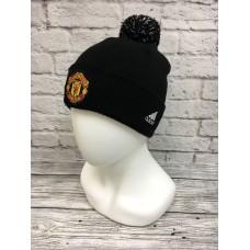Шапка Manchester United черно-красная арт.1062