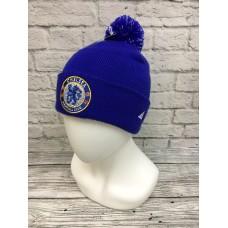 Шапка Chelsea синяя арт.1060