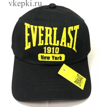 Кепка Everlast черная арт. 2131