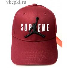 Кепка Supreme бордо арт. 2144