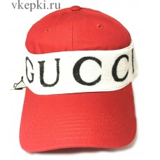 Кепка Gucci красная арт. 2154