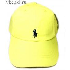 Кепка Polo Ralph Lauren желтая арт. 2178
