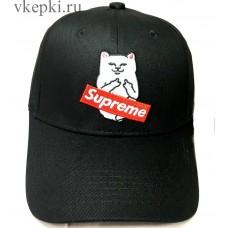 Кепка Supreme черная арт. 2201