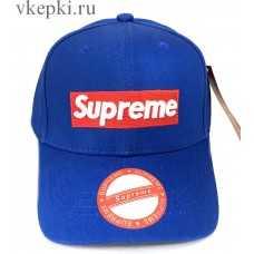 Кепка Supreme голубая арт. 2202