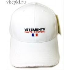 Кепка Vetemens белая арт. 2261