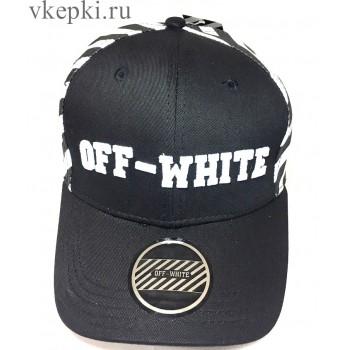 Бейсболка Off White черная арт. 2291