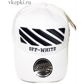 Бейсболка Off White белая арт. 2303