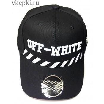 Бейсболка Off White черная арт. 2305