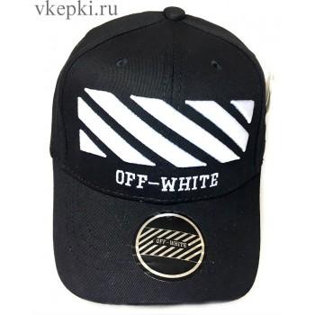 Бейсболка Off White черная арт. 2306