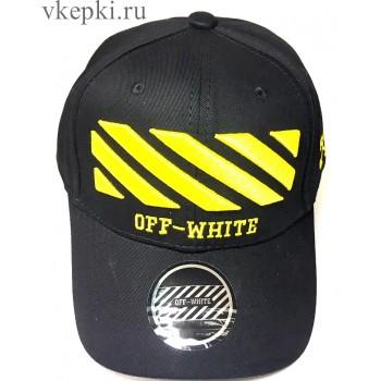 Бейсболка Off White черная арт. 2307