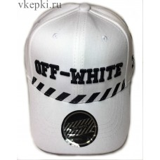 Бейсболка Off White белая арт. 2309