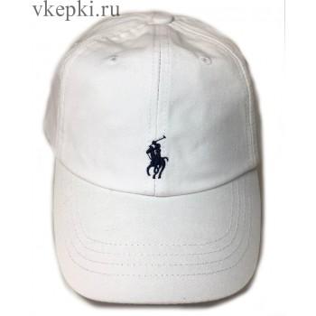 Бейсболка Polo Ralph Laure белая арт. 2316