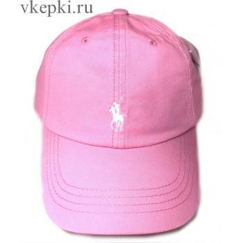Бейсболка Polo Ralph Laure розовая арт. 2321