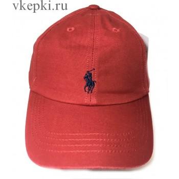 Бейсболка Polo Ralph Laure красная арт. 2322