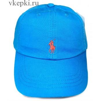 Бейсболка Polo Ralph Lauren голубая арт. 2325
