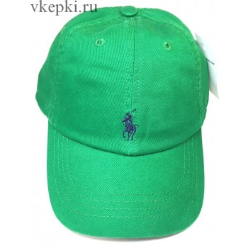 Бейсболка Polo Ralph Laure зеленая арт. 2326