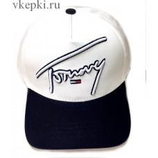 Бейсболка Tommy Hilfiger бело-синяя арт. 2341