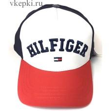 Бейсболка Tommy Hilfiger бело-красно-синяя арт. 2340