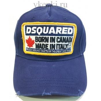 Бейсболка Dsquared2 синего цвета