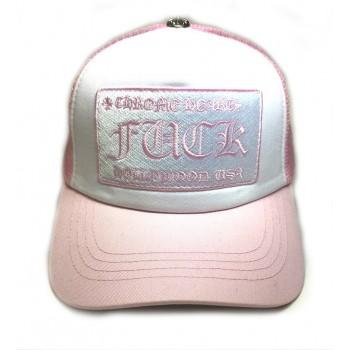 Кепка Chrome Hearts розовая