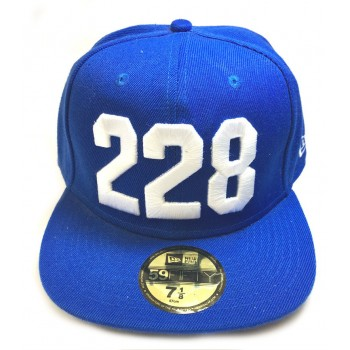 Кепка 228 синего цвета
