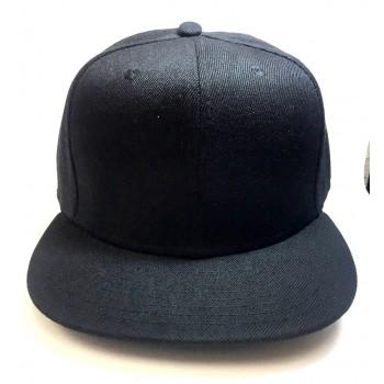 Кепка черная без логотипа