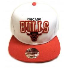 Кепка Chicago Bulls белая арт.304