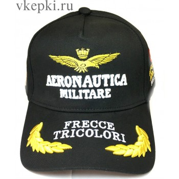 Кепка Aeronautika черная арт. 2108
