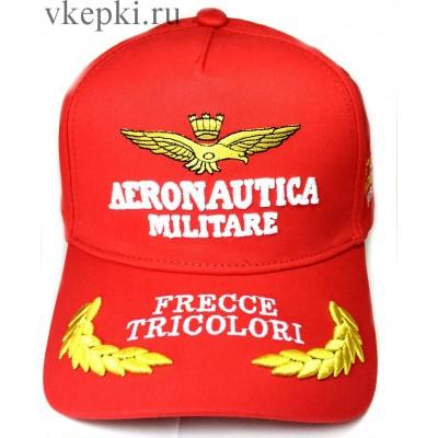 Кепка Aeronautika красная арт. 2107