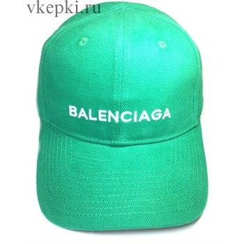 Кепка Balensiaga зеленая арт. 2092