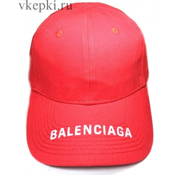 Кепка Balensiaga красная арт. 2090