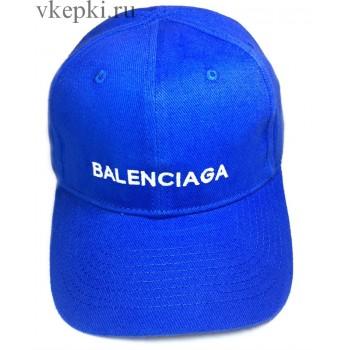 Кепка Balensiaga синяя арт. 2089