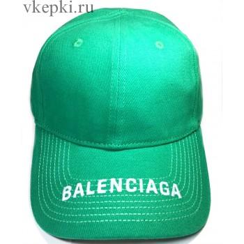 Кепка Balensiaga темно-зеленая арт. 2086