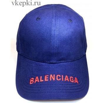 Кепка Balensiaga темно-синяя арт. 2084