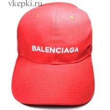 Кепка Balensiaga красная арт. 2082