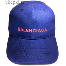 Кепка Balensiaga синяя арт. 2080