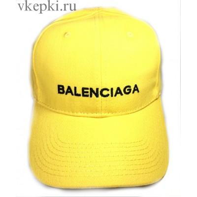 Кепка Balensiaga желтая арт. 2079