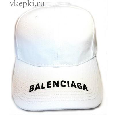 Кепка Balensiaga белая арт. 2078