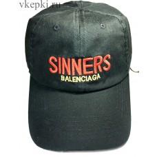 Кепка Sinners черная арт. 2045
