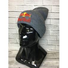 Шапка Red Bull серая арт.1108