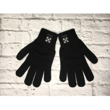 Перчатки Off White черные
