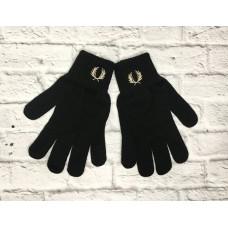 Перчатки Fred Perry черные