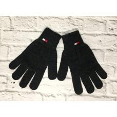 Перчатки Tommy Hilfiger серые