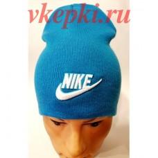 Шапка-чулок Nike голубая арт.1477