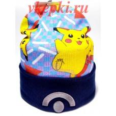 Шапка Pokemon Пикачу арт.1544