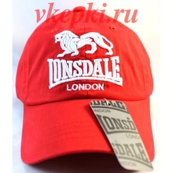 Кепка Lonsdale красного цвета